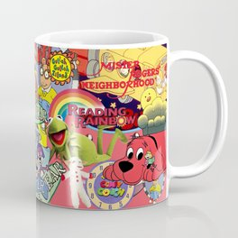 Kids shows from our Childhood Coffee Mug