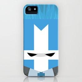 Blue Knight (Castle Crashers) iPhone Case