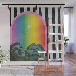 Stars Shine Brighter With You Wall Mural
