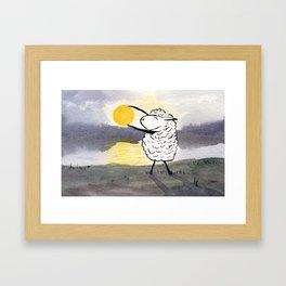 Capture the Sun Framed Art Print