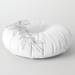 love snapdragons Floor Pillow
