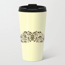 Mustache Of Mustaches Metal Travel Mug