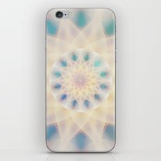 Water Lily Mandala iPhone & iPod Skin
