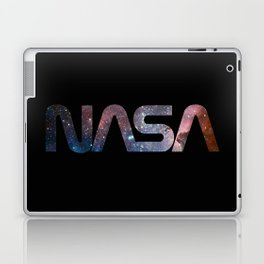 NASA font Laptop & iPad Skin