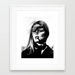 Iconic Bardot Framed Art Print