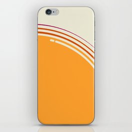sole equatoriale iPhone Skin