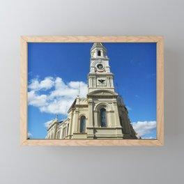 Fremantle Town Hall//  Perth WA Australia Framed Mini Art Print