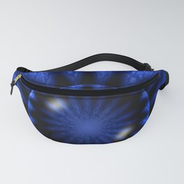 Ice Cave Abstract Fanny Pack