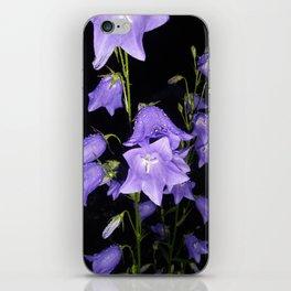 Flowers in Purple iPhone Skin
