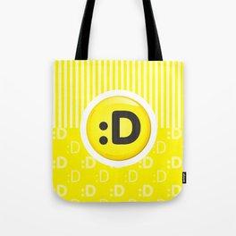 Yellow Writer's Mood Tote Bag