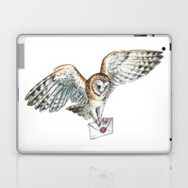 Mail Owl (Barn Owl)   Laptop & iPad Skin