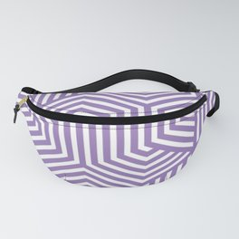 Purple mountain majesty - violet - Minimal Vector Seamless Pattern Fanny Pack
