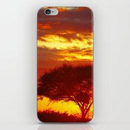 Glowing African Morning iPhone Skin