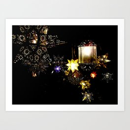 Las Estrellas Art Print