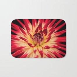 Flower red Bath Mat