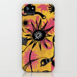 Holocene - Abstract Pattern iPhone Case