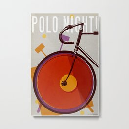 Polo Night! | Track Metal Print