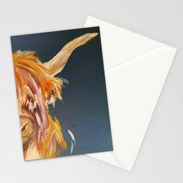 Bonnie Highland Cow Stationery Cards