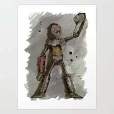 Robotty Art Print