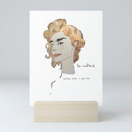sou mulher Mini Art Print