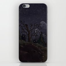 I was too fond of the stars iPhone & iPod Skin