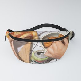 Pizza Slices (46) Fanny Pack