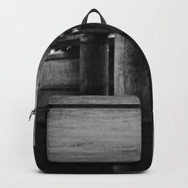 Under the bridge 4 black & white Backpack