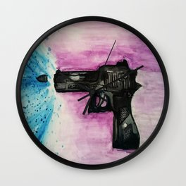 Water Gun Wall Clock