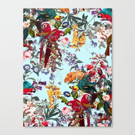 Floral and Birds XXXIV Canvas Print