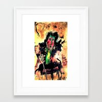 oscar wilde Framed Art Prints featuring Oscar Wilde by Shane R. Murphy