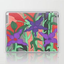 Twilight Sun Garden Floral Art Laptop & iPad Skin