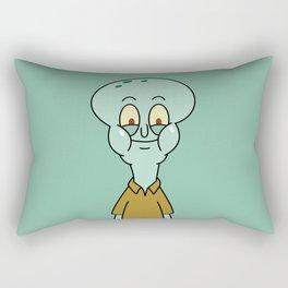 Normal Squidward Rectangular Pillow
