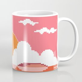 Sunset  on  Coco  Island Coffee Mug