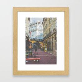Color Street Framed Art Print