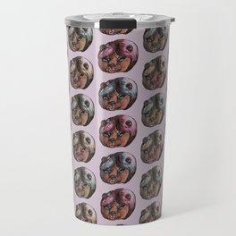 make up bear Travel Mug