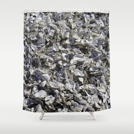 Shucked Oyster Shells Shower Curtain