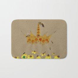 Honey Royalty Bath Mat