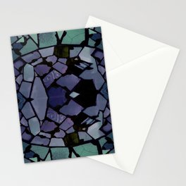 Mosaic - Peacock Stationery Cards