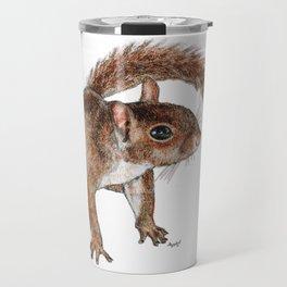 Twitchy-nosed Squirrel Travel Mug