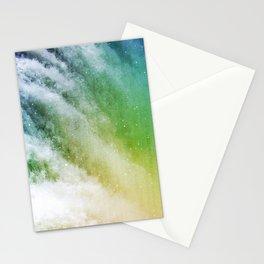 Waterfall nebula Stationery Cards