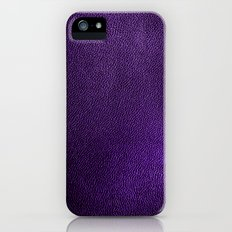 leather*Trompe l'oeil Slim Case iPhone (5, 5s)