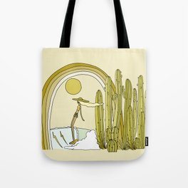 endless california summer vibes // retro surf art by surfy birdy Tote Bag