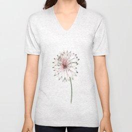 Pastel Lionhead Bloom Unisex V-Neck