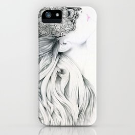 Lola - the intuitive lover iPhone Case