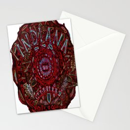 Hoosier Hysteria Stationery Cards