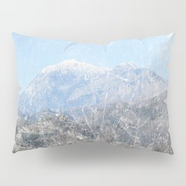 Snow-capped Mountains Pillow Sham