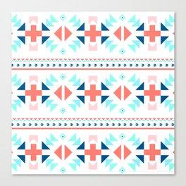 geometry navajo pattern Canvas Print