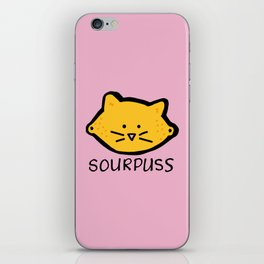 Sour Puss iPhone Skin