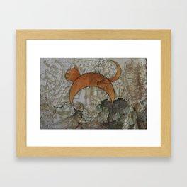 Sircle Khat Framed Art Print