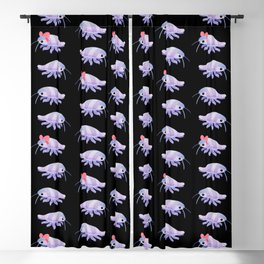 Ribbon giant isopod Blackout Curtain